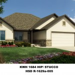 Green Cedar KWH 1684 Hip-Stucco HSD R-1629a-005