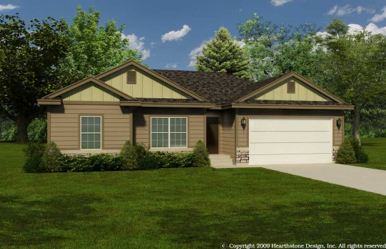 Jw Kw Rendering Fort Worth Affordable Custom Home 541x350