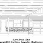 kw_Green-Pine-KWH-1682-Gable-HSD-R-1672d-166-Front-Model